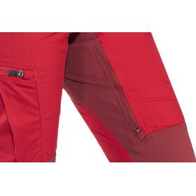 Lundhags Makke Pants Women Regular Red/Dark Red